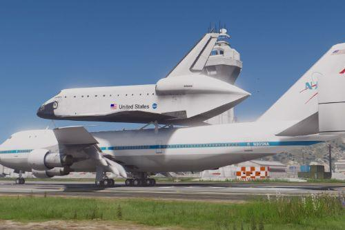 Boeing 747 Space Shuttle Carrier [Add-On]