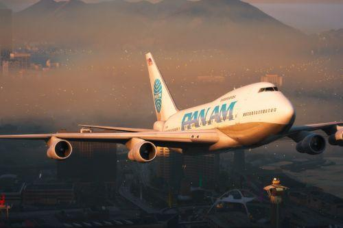 Boeing 747SP Livery Pack