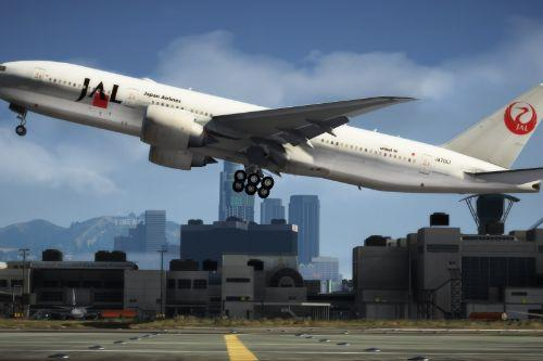 Boeing 777-200 Japan Airlines Pack
