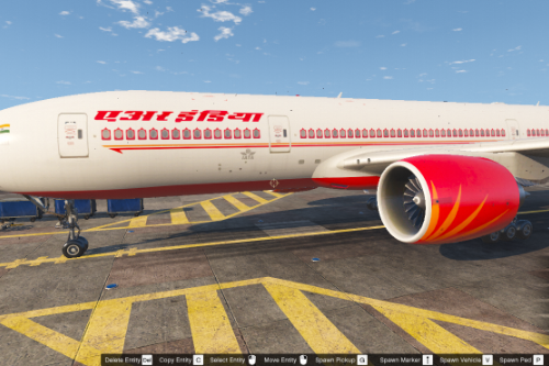 Boeing 777-200 Liveries Add-On Pack (Air India, Thai International, Qatar)