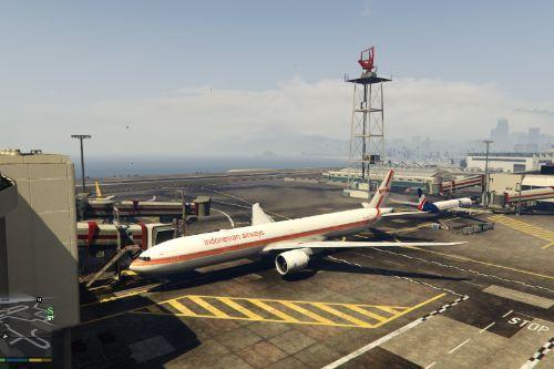 Boeing 777-300ER Liveries Mega Pack (Turkish, Rossiya, Austral, Garuda, ANZ, Emirates, Biman, Kuwait, CN3, Kenya, TAAG, Transaero, Aeroflot, LATAM, PIA)