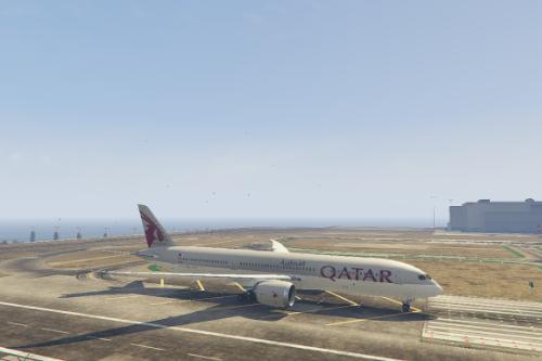 Boeing 787-9 Dreamliner Qatar Airways Livery