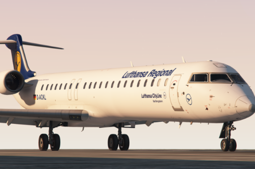 Bombardier CRJ-900 Livery Pack