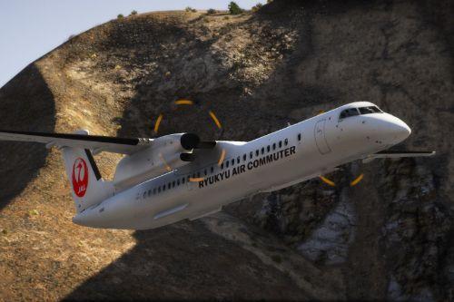 Bombardier Dash 8 Q400 Japan Pack