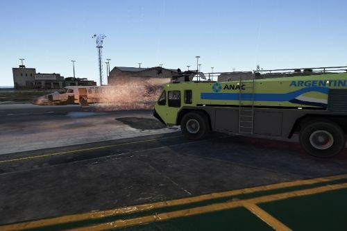 Bomberos del aeropuerto de Argentina (Paintjob)