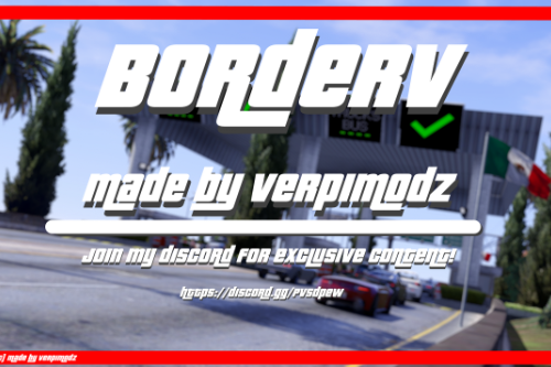 BorderV2 [ Add-On | FiveM | RageMP ]