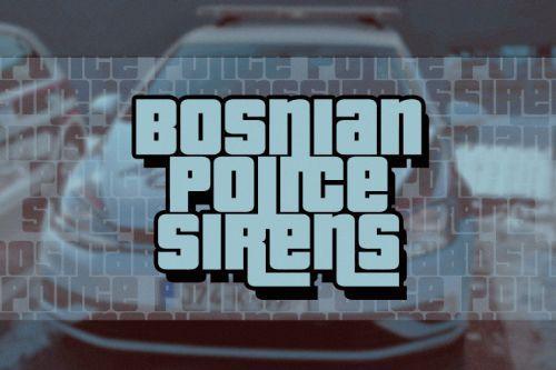 Bosnian Police Sirens 1 | Sarajevo Police Sounds