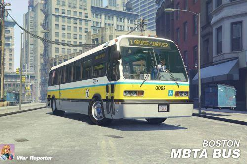 Boston MBTA Bus GMC RTS Paintjob