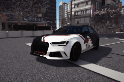 BOWDAN paintjob for Audi RS6 2016