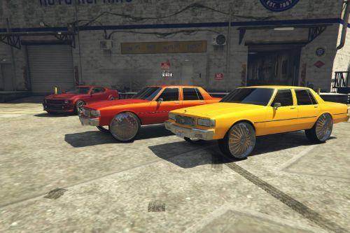 Box Chevy Caprice Donk