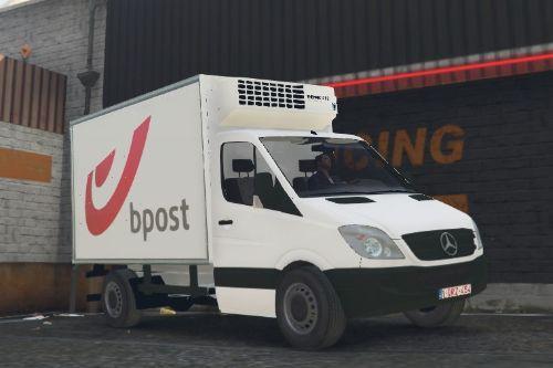Bpost Mercedes Sprinter Belgium Post Paint Job