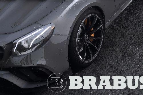 Brabus Monoblock Z «Platinum Edition» wheels