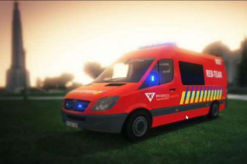 Brandweer Antwerpen RED-Team
