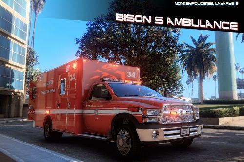 38cf22 bison ambulance