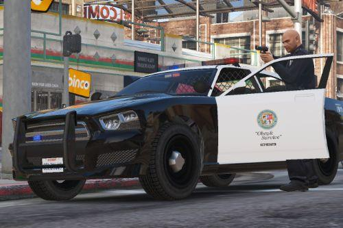 Bravado Buffalo S - Los Santos Police Department [Add-On | Replace | Template]