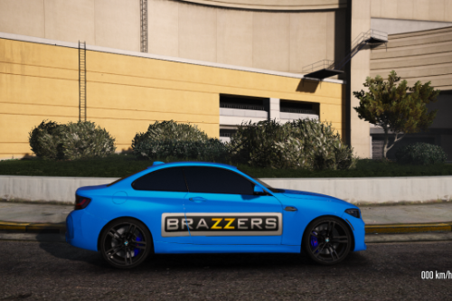 Brazzers livery for BMW M2