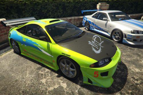 Brian's MITSUBISHI ECLIPSE GS 1995 (FAST&FURIOUS) [Add-On]