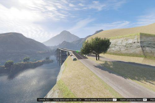 Bridge for Las Venturas & San Fierro DLC [Menyoo]