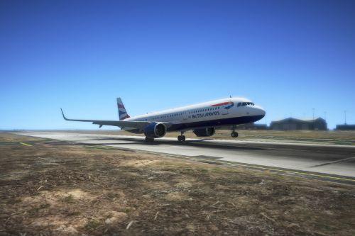 British Airways livery - A321neo