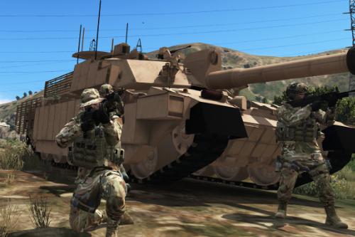 British Army MTP camo (Retexture)