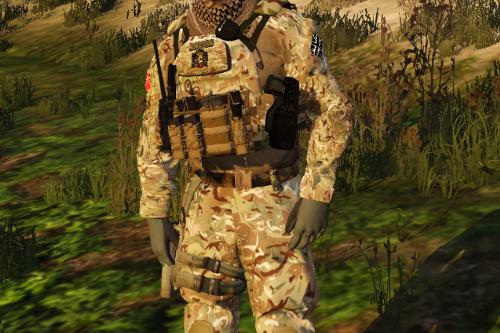 British Army Multi Terrain Pattern camouflage 2