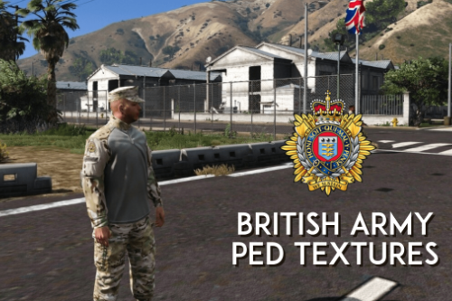 British Army Ped Retexture
