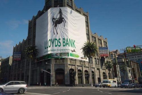 British LLoyds Bank  Retexture