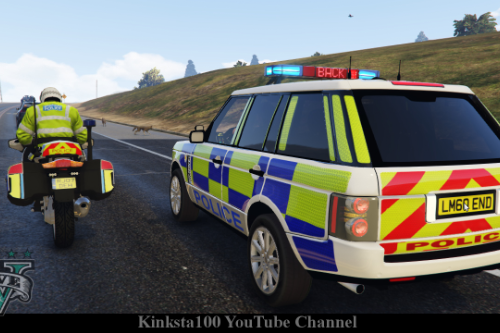 9a8483 gta 5 police range rover els screen