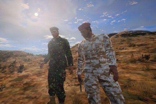 British Military DPM camo (Retexture)