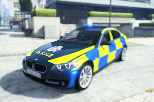 British Police BMW 530D Saloon (Essex)