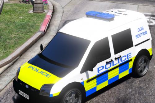 British Police Dog K9 Unit - Ford Connect Van [ARV & Regular]