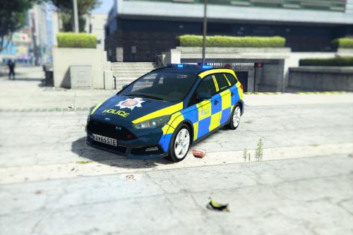 British Police Ford Focus ST (Essex)