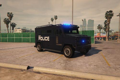 "British Police Jankel AMRV Style Riot Van ""UK SWAT"""