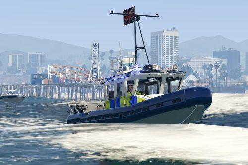 British Police Marine Unit - Reskin
