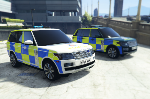 British Police Range Rover Vogue (Essex)