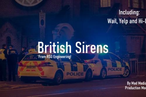 British Sirens - From RSG Engineering