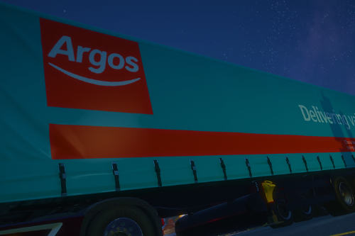 British Trailers Paintjob