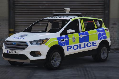 British Transport Police Ford Kuga (SKIN)
