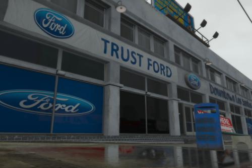 British Trust Ford Building Retexture