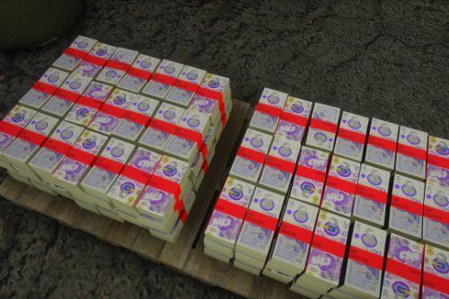 Britsh Money Note
