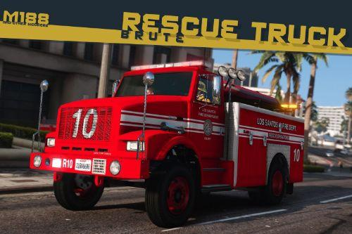 Brute Fire Rescue Truck [Add-On | Liveries | Template]