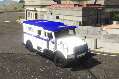 Wanted System Enhancement: Brute Stockade - NOOSE SEP Detainee Transport Liveries