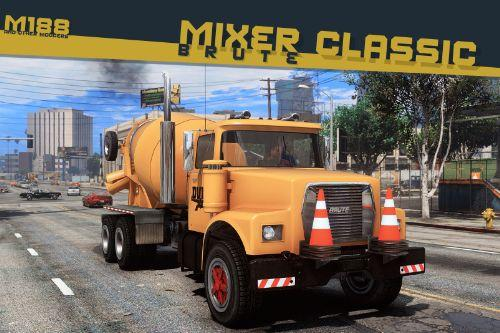 Brute Mixer Classic / Tipper-based Mixer [Add-On | Replace | Liveries | Template | Sounds]