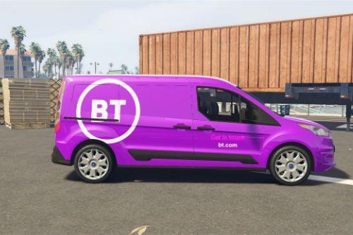 BT Openreach Ford Connect Van