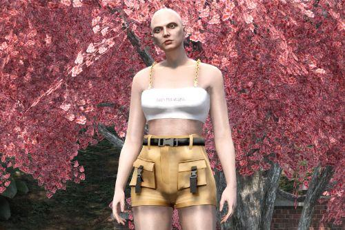Buckle Shorts for MP Female
