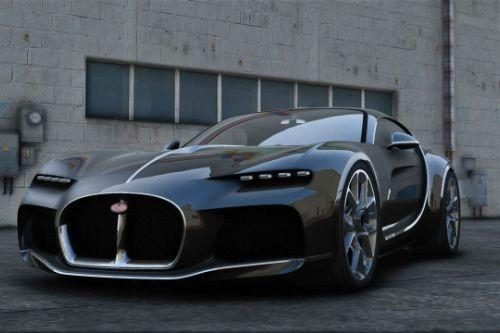 Bugatti Atlantic  [Add-On | Extras]