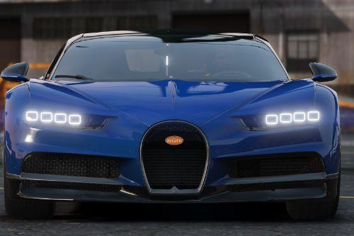 2017 Bugatti Chiron [Add-on | Auto Spoiler | AO maps]