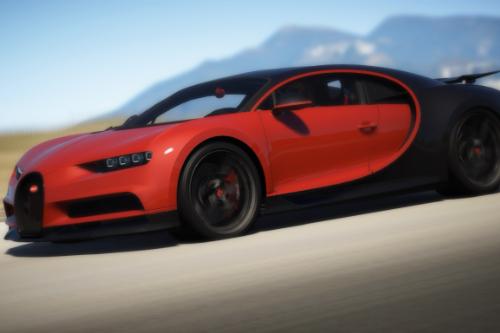 Bugatti Chiron handling Pack