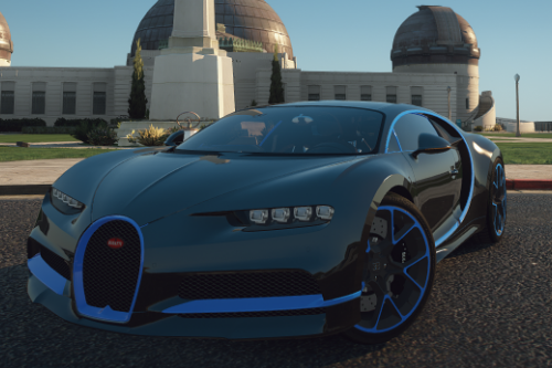 Bugatti Chiron [Add-on | LODs | Tuning | Auto-Spoiler]