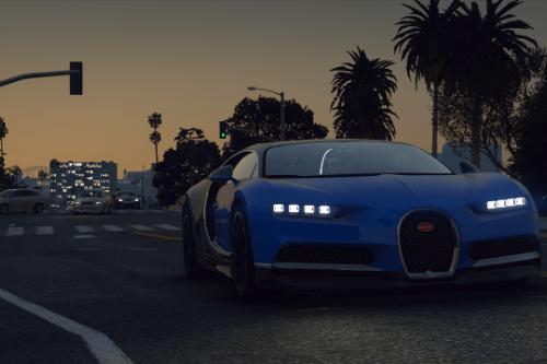 Bugatti Chiron [Add-On / Replace | FiveM | LODs | Auto Spoiler]